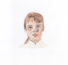 """Laurel Goodwin"" - Oil on paper"