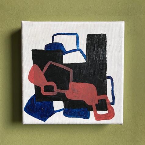 """Untitled"" - Acrylic on canvas - 20x20cm"